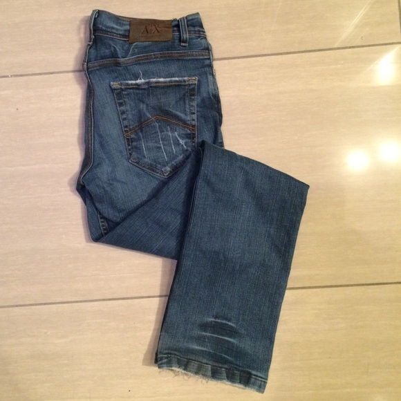 delicate colors price reduced free delivery Men's Armani Exchange Jeans Size 28 Short Style